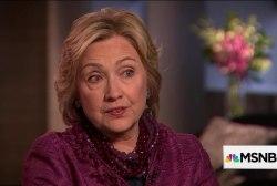 Clinton: Trump's demagoguery 'no longer...