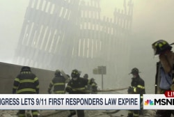 Congress lets 9/11 first responders law...