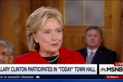 Clinton: 'I also like to have a good time'