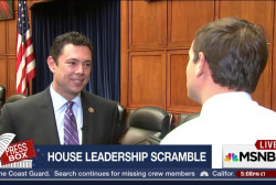 GOP House Leadership Scramble