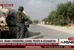 Joe: US in awful catch-22 in Afghanistan