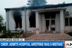 US admits airstrike was a mistake