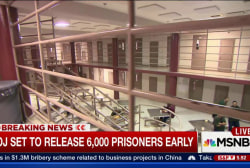 DOJ to release 6,000 prisoners