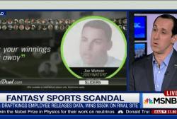 Scandal rocks fantasy sports websites