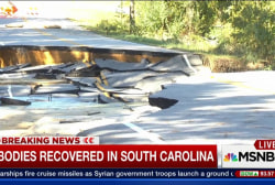 Death toll rises across the Carolinas