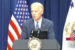 VP Biden jokes about 'demotion'