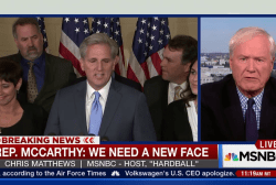 Matthews discusses disparity in the GOP