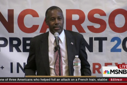Wait, what did Ben Carson say?