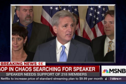 GOP in chaos searching for new speaker