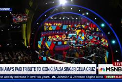Celia Cruz honored at Latin American Music...