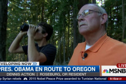 Obama en route to Oregon