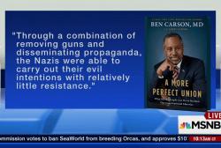 Ben Carson's controversial Holocaust comments