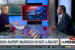 Carson: Rupert Murdoch is not a racist