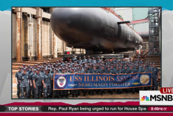 First lady to christen new submarine