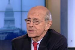 Justice Breyer on US law, globalization