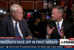 O'Malley reviews debate performance