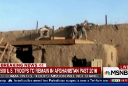 5.5K U.S. troops to remain in Afghanistan...
