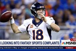 FBI investigating fantasy sports complaints