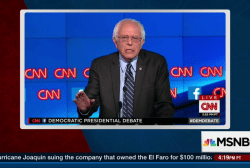 Sanders slams corrupting influence of money