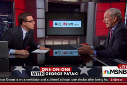 Pataki prefers Carson, Trump to Clinton