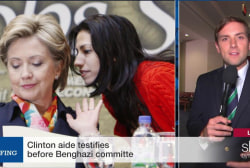 Clinton's aid testifies to Benghazi committee