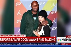 E! report: Lamar Odom awake and talking