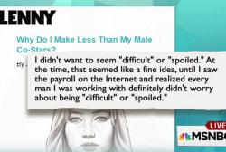 Jennifer Lawrence weighs in on gender roles