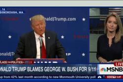 Trump vs. Bush over 9/11