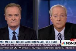 Fmr. US amb. on Israeli-Palestinian violence