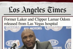 Lamar Odom released from hospital: report