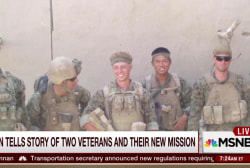 How decorated vets bring the mission home