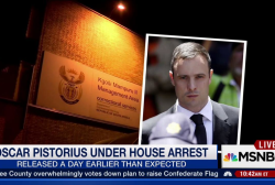 Oscar Pistorius under house arrest