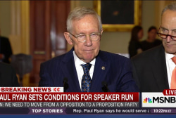 Did Harry Reid endorse Paul Ryan?
