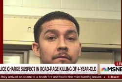 Suspect charged in road-rage killing of girl