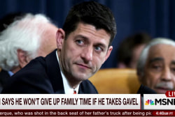 Women on MJ panel on Paul Ryan's family leave