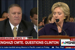 Clinton on Blumenthal emails, security...