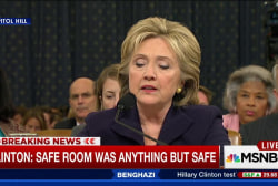 Clinton: 'This was the fog of war'