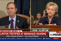 Schiff on why Dems joined Benghazi cmte.