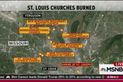 Seventh St. Louis church suffers arson attack