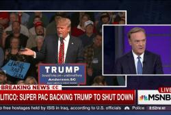 Super PAC backing Trump shuts down