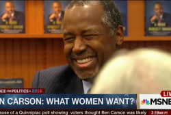Inside Carson's appeal with women voters