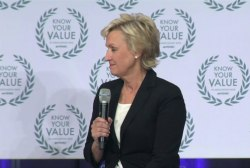 Tina Brown: women are still 'less vocal'
