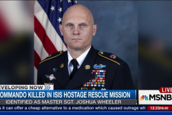 American soldier killed in ISIS hostage...