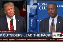 GOP outsiders lead the pack