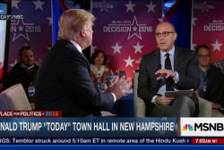 Lauer reflects on TODAY town hall