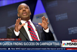 Carson for President: We have not suspended