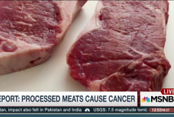 Report: Processed meats cause cancer