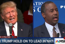 Trump attacking Carson ahead of 3rd GOP...