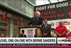 Sanders: Corporate greed destroying America