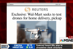 Major retailer considering drone deliveries